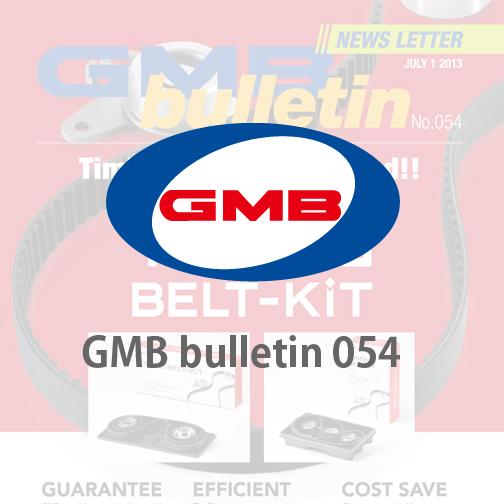 GMB bulletin 054