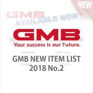GMB NEW ITEM LIST 2018 No.2