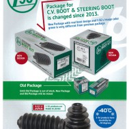 1-56 C.V. Boot and Steering Boot packaging to receive an all NEW design.