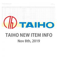 TAIHO NEW ITEM INFO