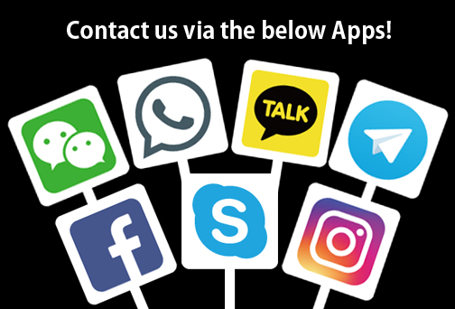 Please feel free to contact us!