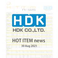 HDK HOT ITEM news 2021 No.1