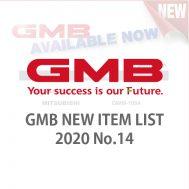 GMB NEW ITEM LIST 2020 No.14