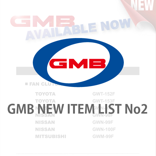 GMB NEW ITEM LIST No2