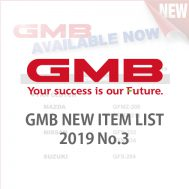 GMB NEW ITEM LIST 2019 No.3