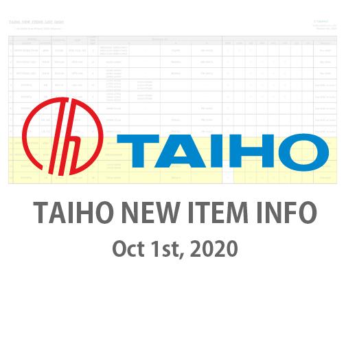 TAIHO NEW ITEM INFO